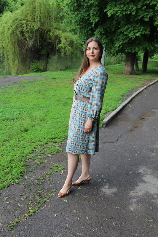 Платье «Микс клеток» от Вихтория