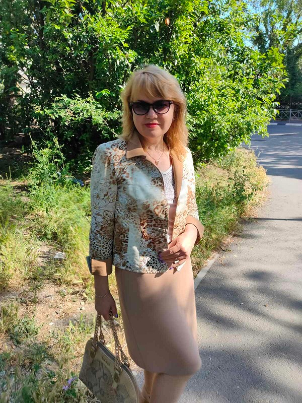 Жакет длятёплых дней от Татьяна Славинская