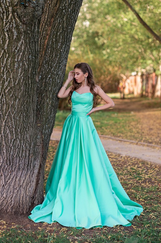 Новое платье постарой выкройке от Ксения Огнева