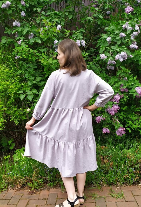 Свободное платье изтуники 5/2020 от OlgaSitnikova