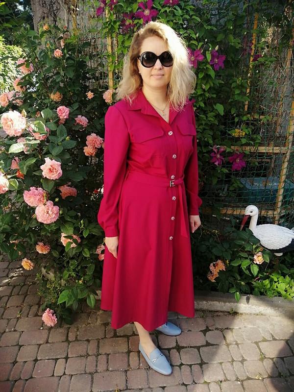 Платье-рубашка от Юлия Мигун