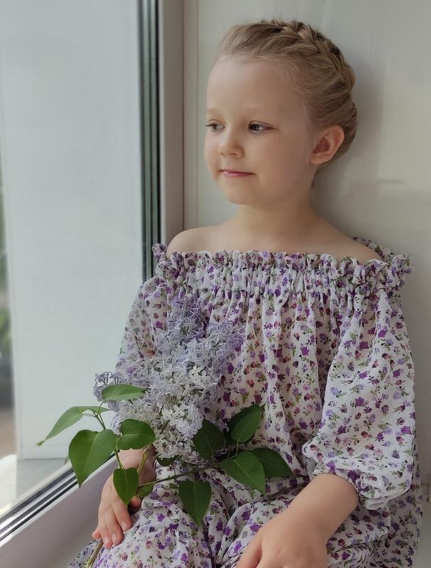 Платье «Сиреневое облачко» от elena_burdalove