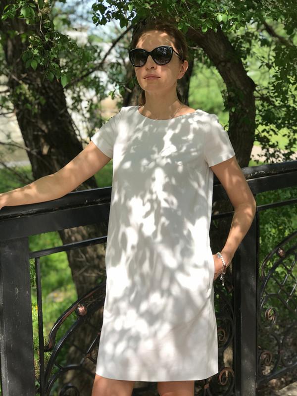 Платье прямого силуэта от Марина Князева