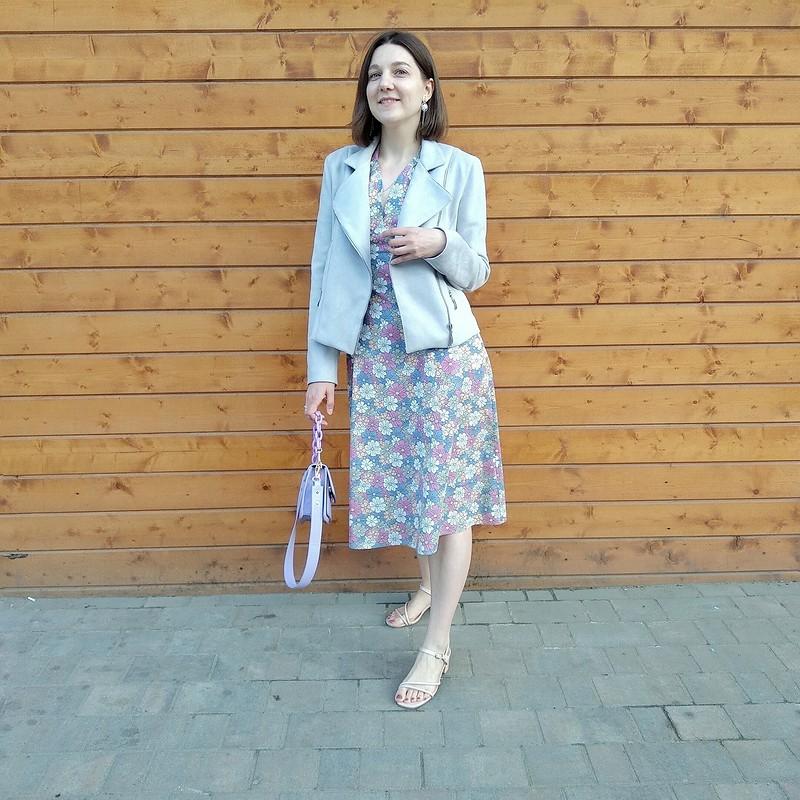 Цветочное ретро-платье от Анна Швец