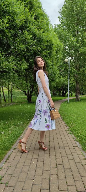 Очень женственное платье от Nitka88