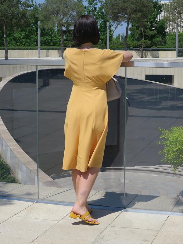 Платье срукавами-крыльями от Татьяна Яковенко