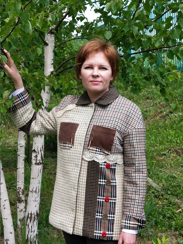 Жакет-рубашка от Валентина