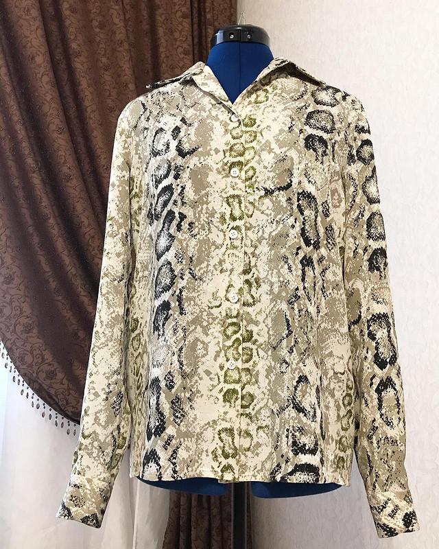 Блуза санималистическим принтом от Наталия2505