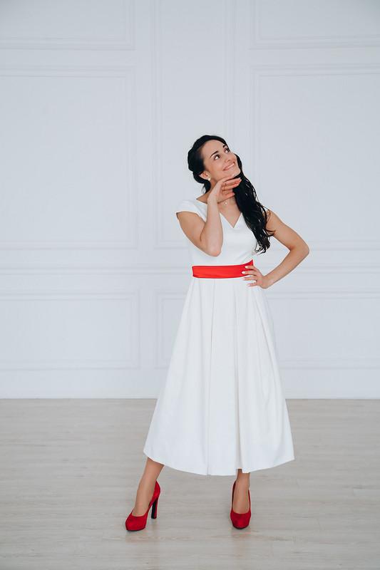 Платье дляневесты встиле минимализм от Olga_2021
