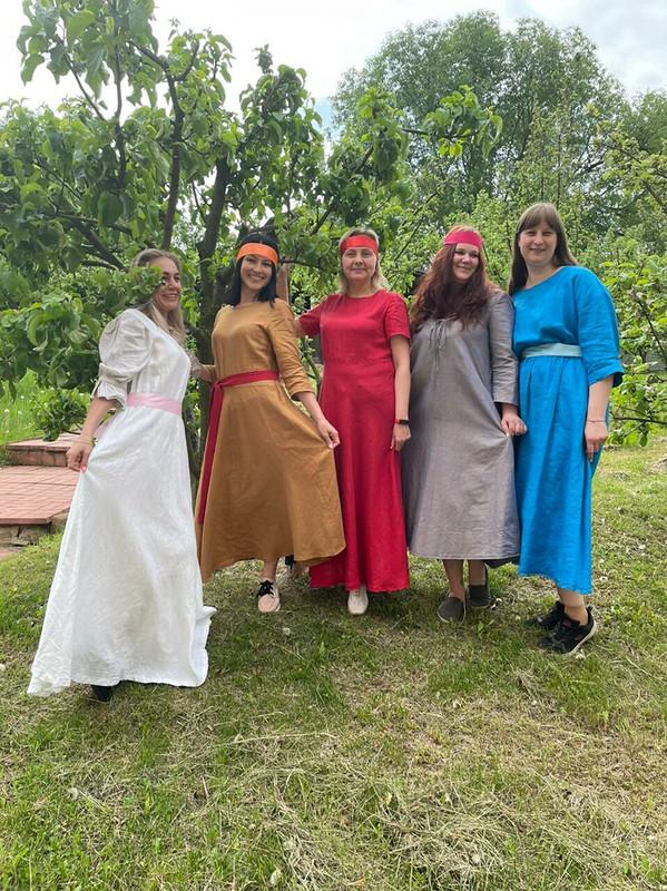 Платья «Моя льняная коллекция» от tschayka