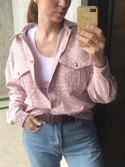 Работа с названием Рубашка из фланели