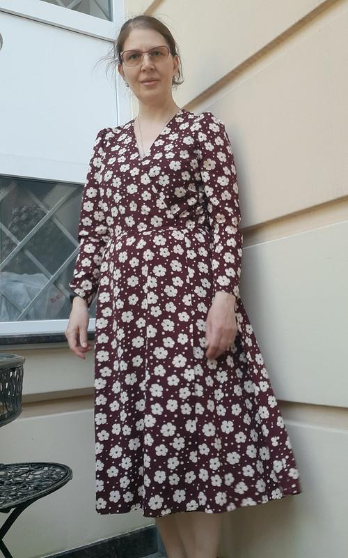 Весеннее платье сэффектом «запАха» от SvetLana