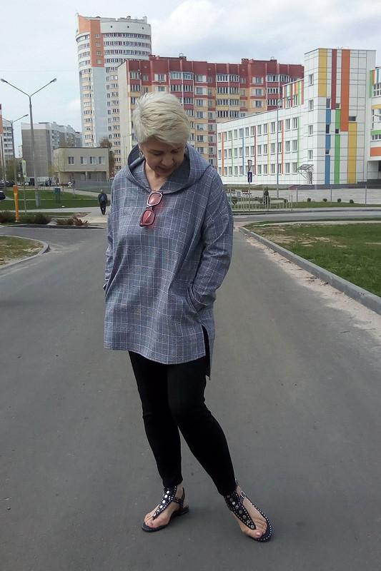 Анорак «Одежка беззастежки» от лена калугина