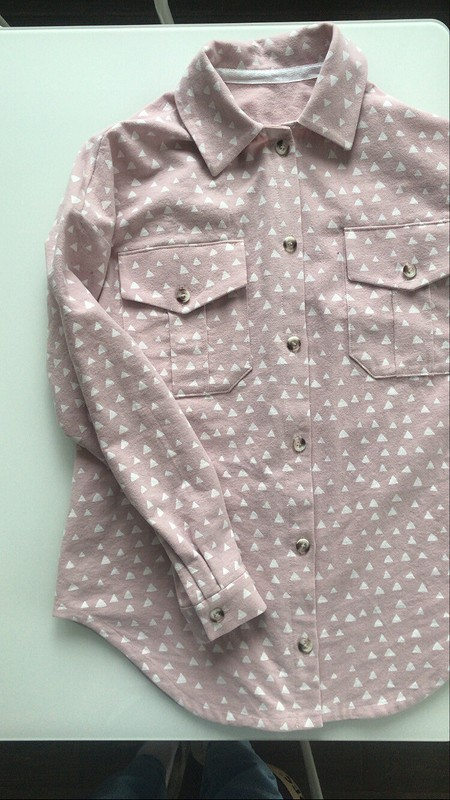 Рубашка изфланели от Alinus
