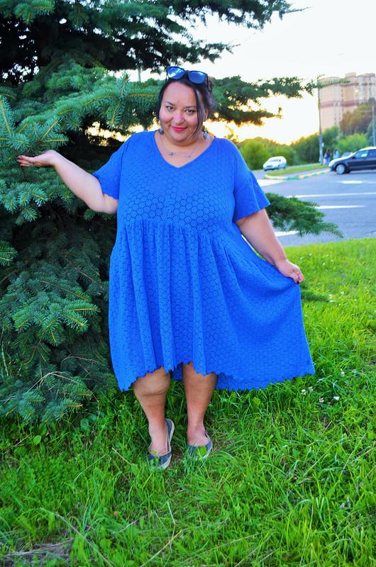 Платье-парашют от Verevochca