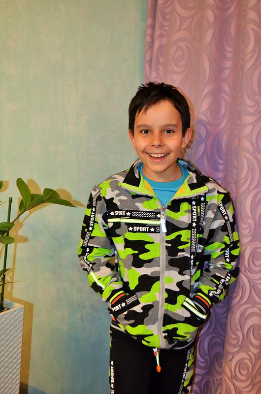 Спортивный костюм длямальчика от Verevochca