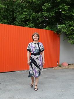 Работа с названием Любимая выкройка и очередное быстро-платье