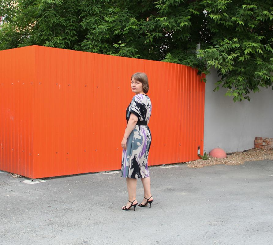 Любимая выкройка иочередное быстро-платье от fortuna