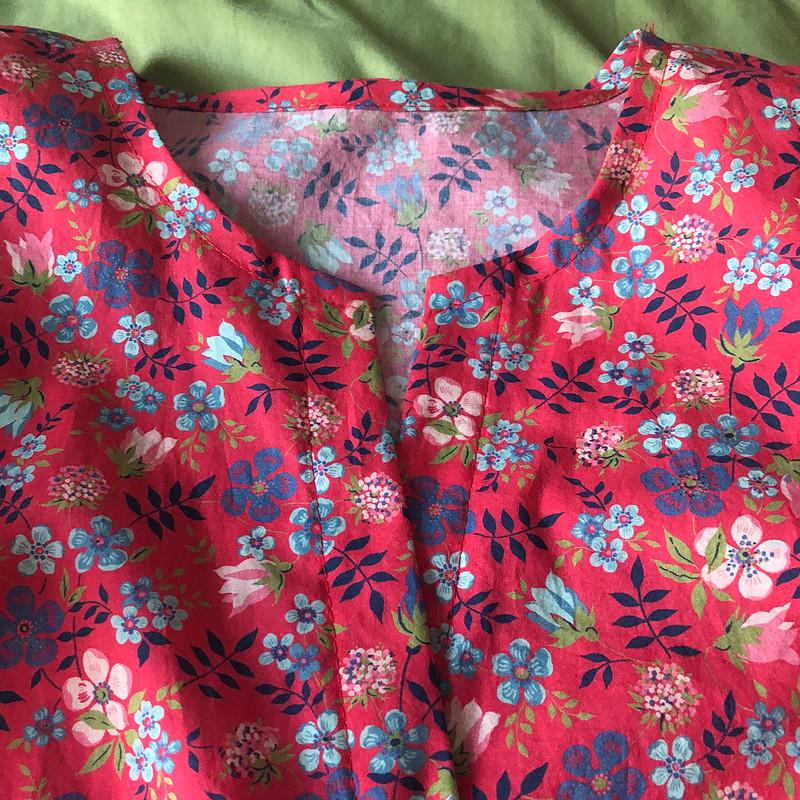 Блузка изхлопка Либерти от atelier_maisoncouture
