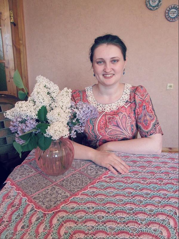 Платье изПавловопосадских Платков от Viktori