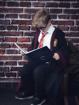 Работа с названием Плащ Гарри Поттера