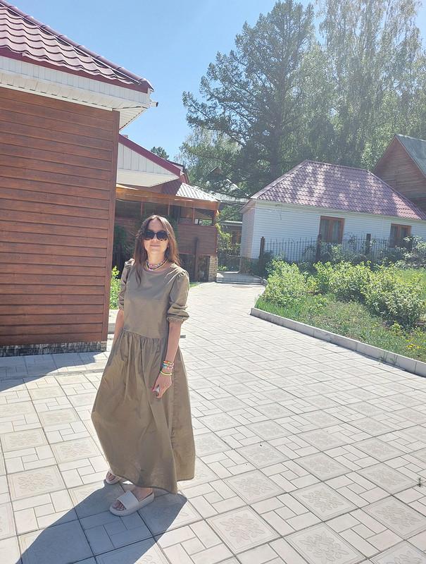 Платье-парашют от Звонкая_Монетка