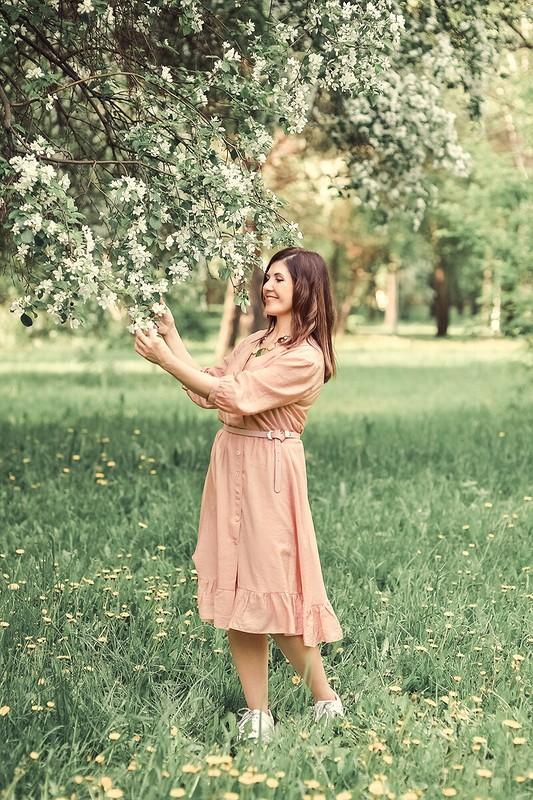Платье «Девушка-весна» от Ирина ВВ