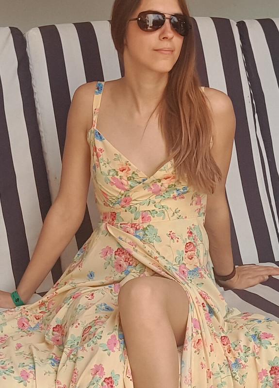Пляжное платье от ОмКа