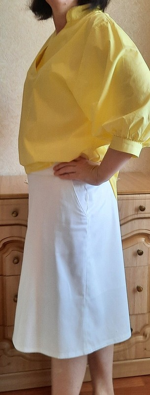 Белая юбка от sveta710