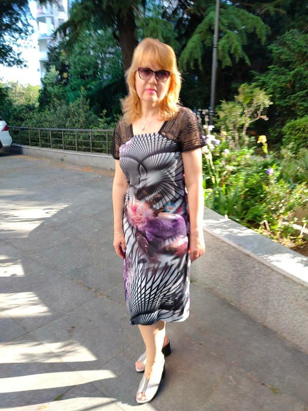Платье счёрным кружевом от Татьяна Славинская