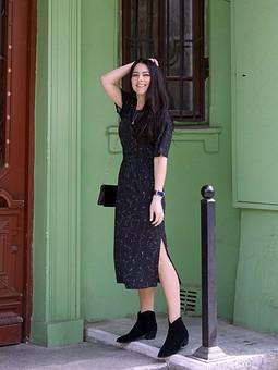 Работа с названием ♡Платье из туники♡