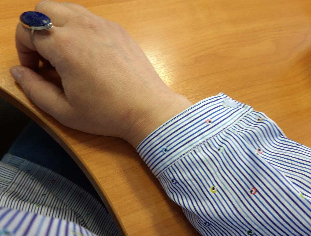 «Правильная» неправильная рубашка от ninok