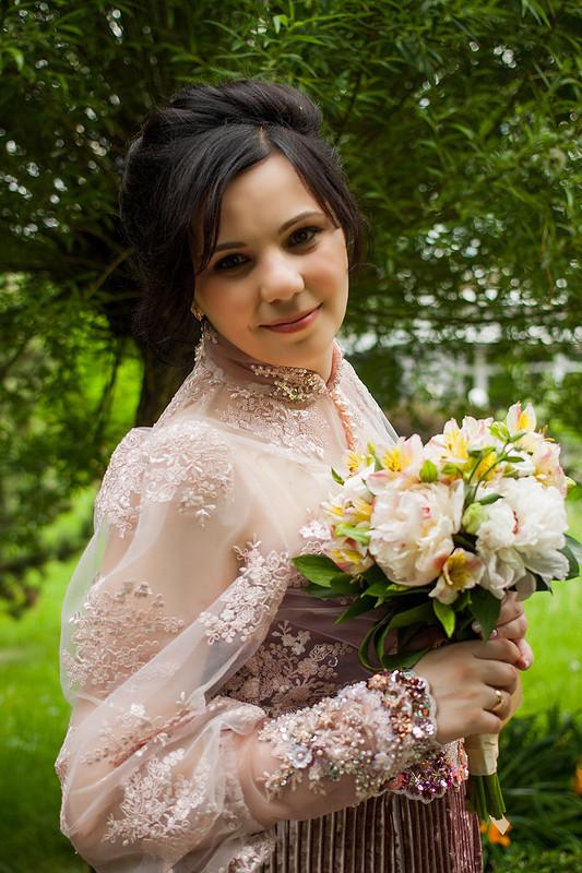 Свадебное платье от nuroc