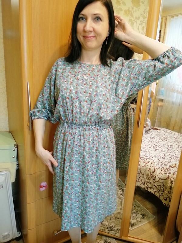 Платье вцветочек от ресурс