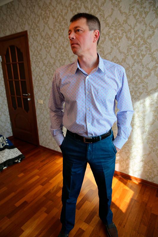 Мужская рубашка от Sultleysan