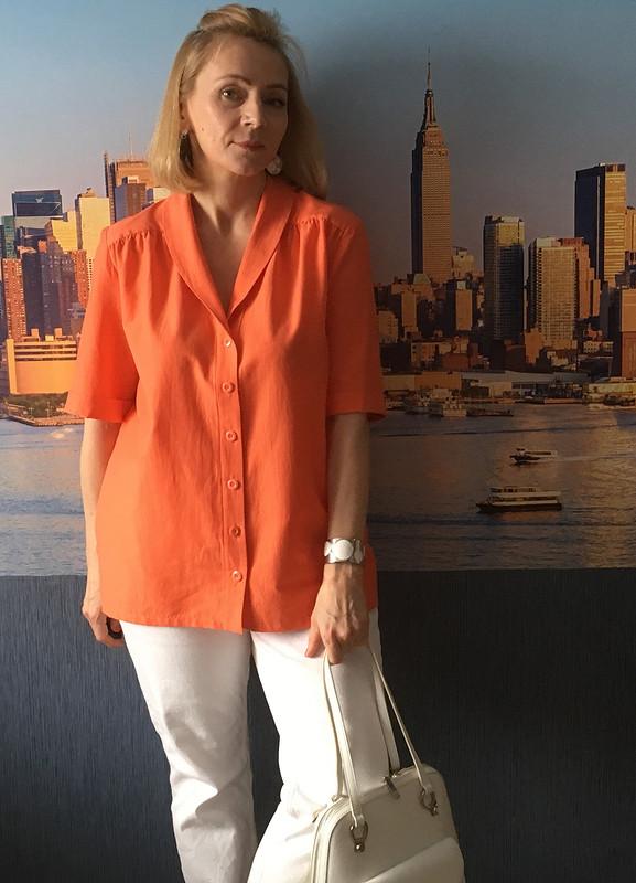 Оранжевая рубашка от SvetlanaNaumova