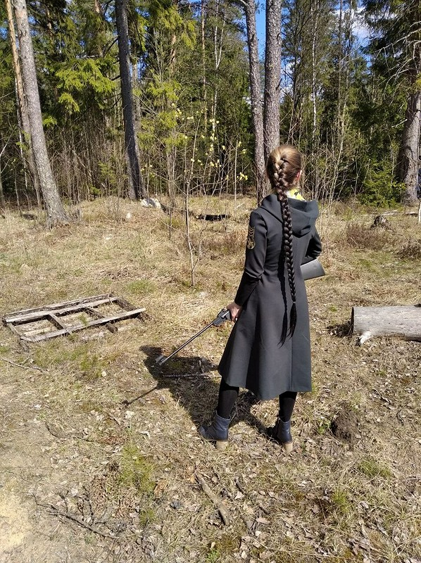 Платье милитари от Irshi