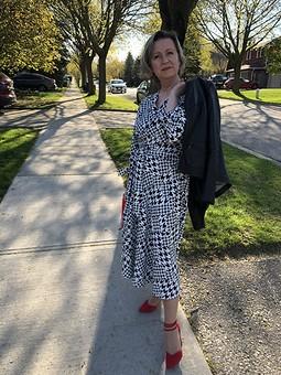 Работа с названием Платье, вдохновленное фотофорумом