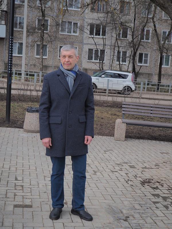 Пальто длямужа от Sентябрина