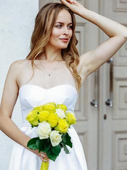 Работа с названием Моё свадебное платье