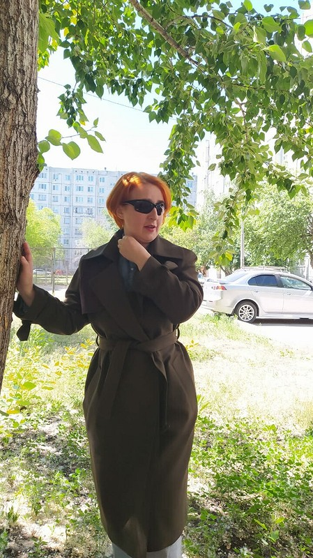 Тренч изШиКа от EkaterinaVodchitsA