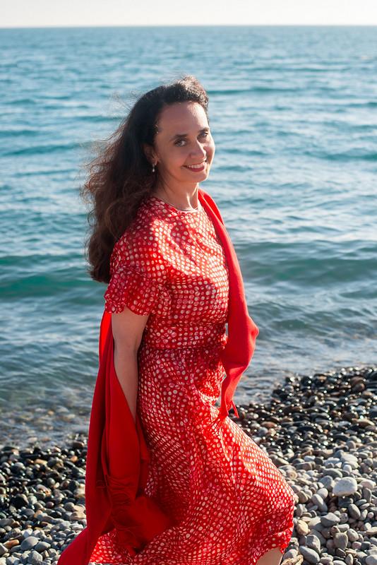 Платье «Lady in red» от OlgaN_