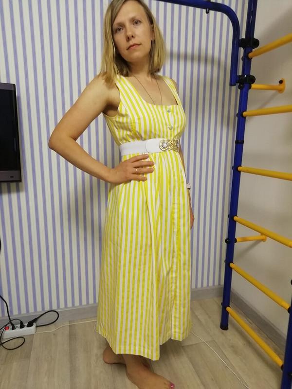 Сарафан «Желтая полоска» от mystafa