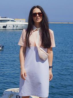 Работа с названием ♡ Платье поло ♡