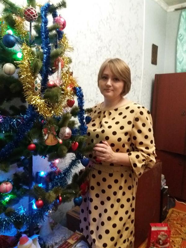 Платье вгорошек от Solnyshko