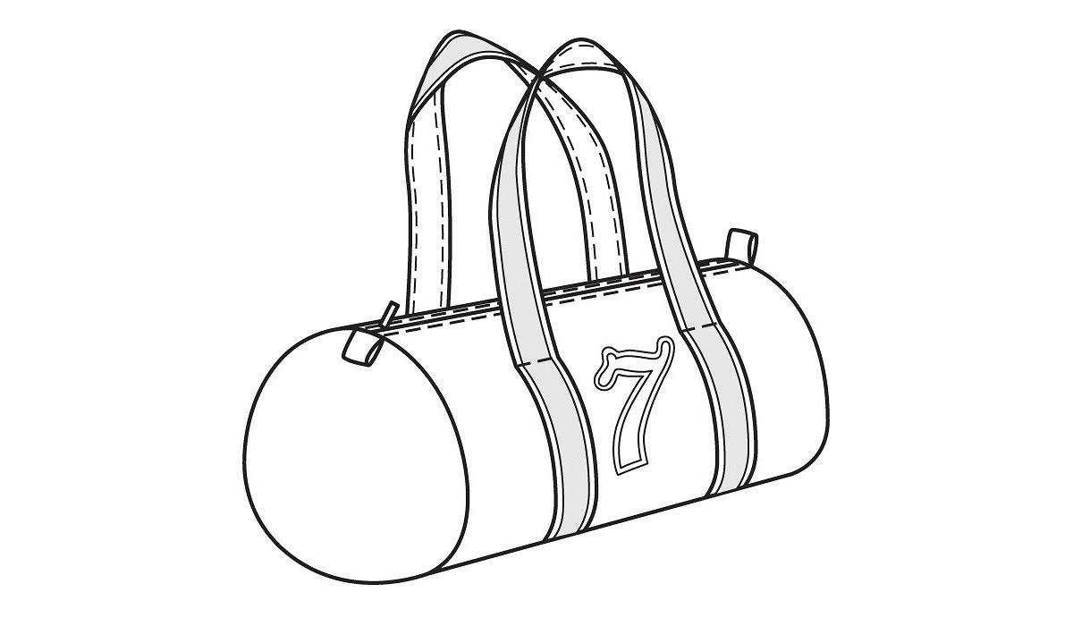 Большая спортивная сумка своими руками