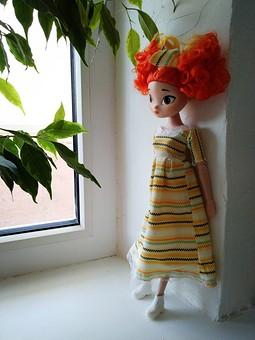 Работа с названием Новый наряд - платье - для Алёнки из