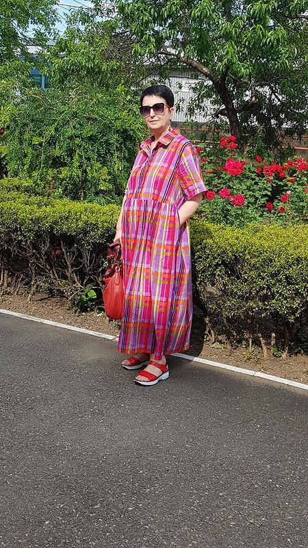 Платье - рубашка/парашют от SiyukhovaAminet