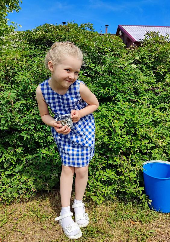 Платье вклеточку! от elena_burdalove