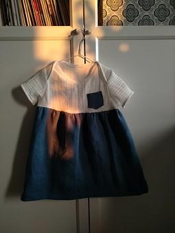 Работа с названием Платье для младшей доченьки